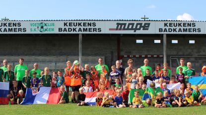 110 deelnemers voor voetbalstage bij SK Aaigem