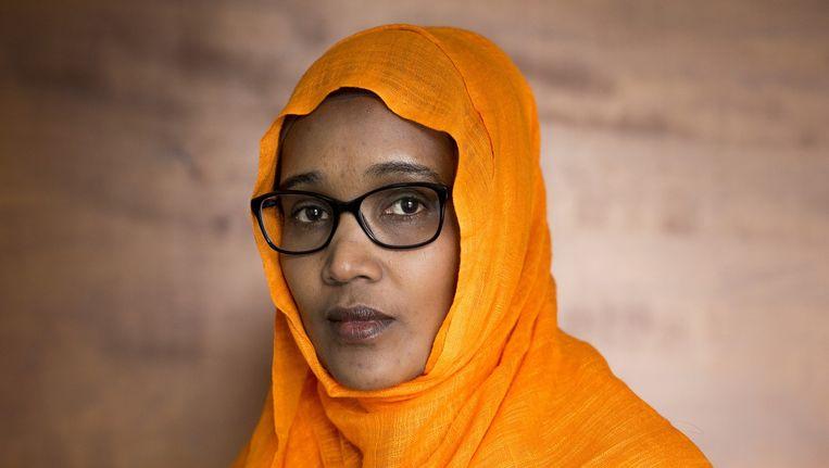Amina Mohamud moest weg als thuiszorger. Beeld Mike Roelofs