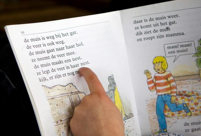 Leren lezen.