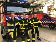 Brandweer Gennep blij met drie man erbij: 'toch nieuwe wervingscampagne'