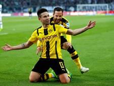Dortmund in extremis langs Gladbach