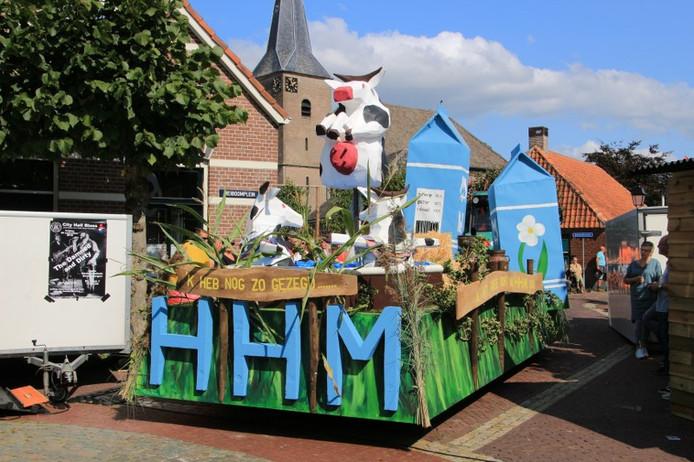 De winnende wagen van HHM.