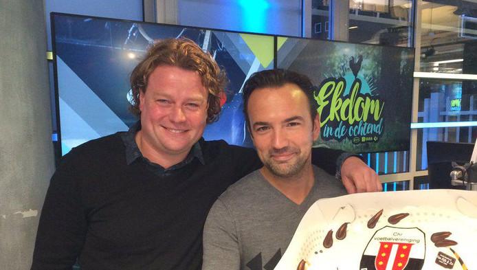 Maarten Westerduin samen met Gerard Ekdom