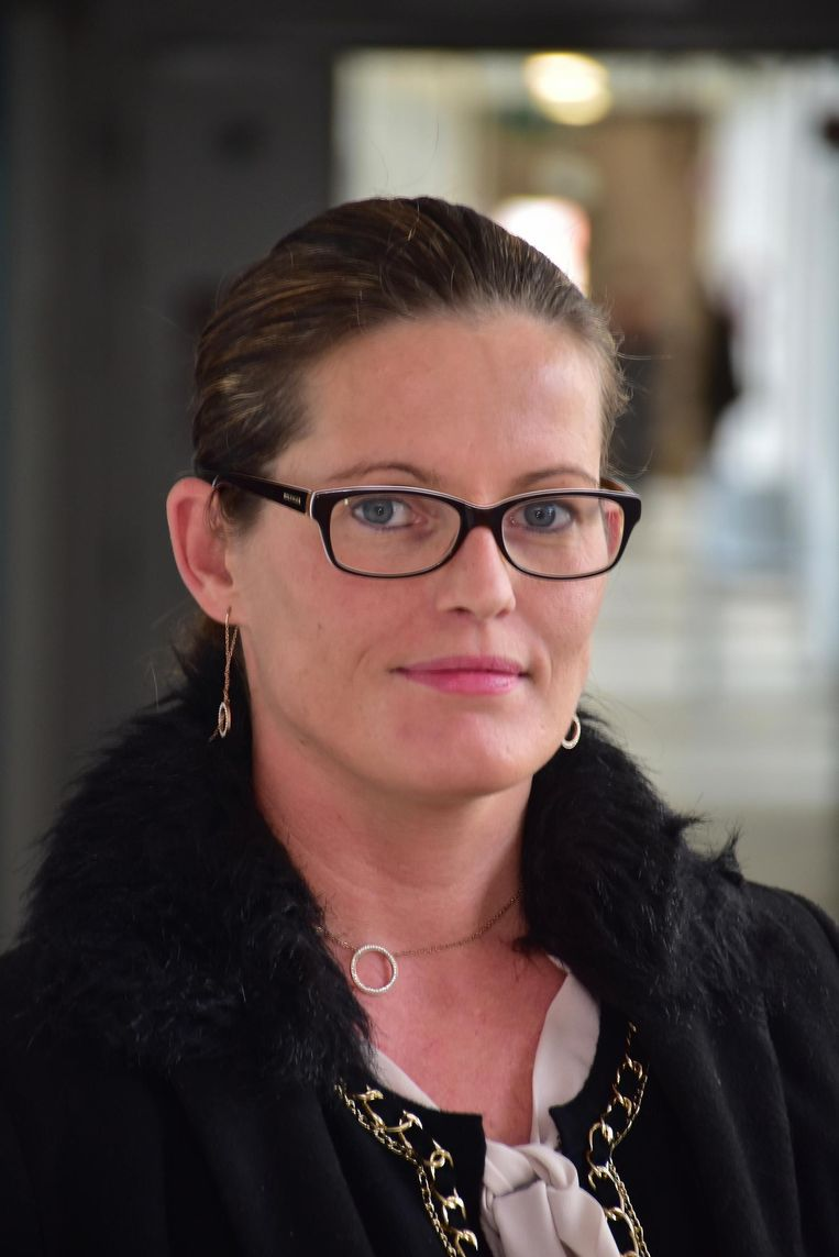 Evelyn Depoorter (36).