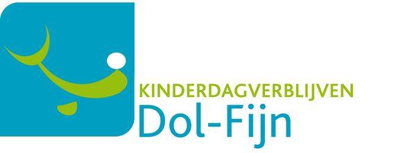 Het logo van kinderdagverblijven Dol-Fijn