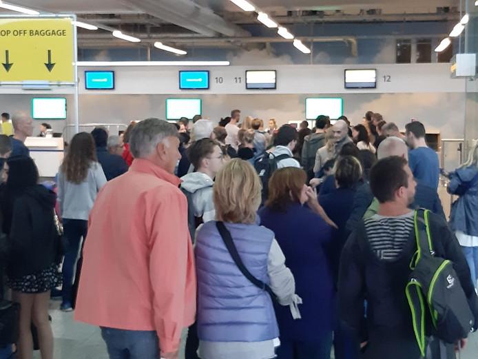 Weer storing van het bagagesysteem op Eindhoven Airport.