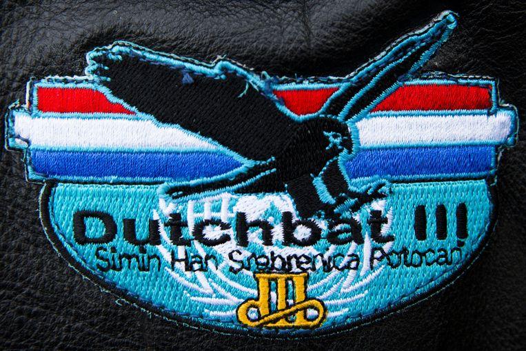 Logo Dutchbat III. Beeld anp