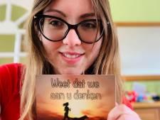 Ingeborg (26) stuurt duizenden kaartjes naar onbekenden in coronatijd: 'We denken aan je'