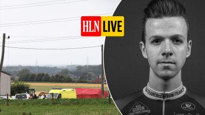 Wielerwereld in rouw: jonge renner (20) laat het leven na val in oefenkoers Wortegem-Petegem