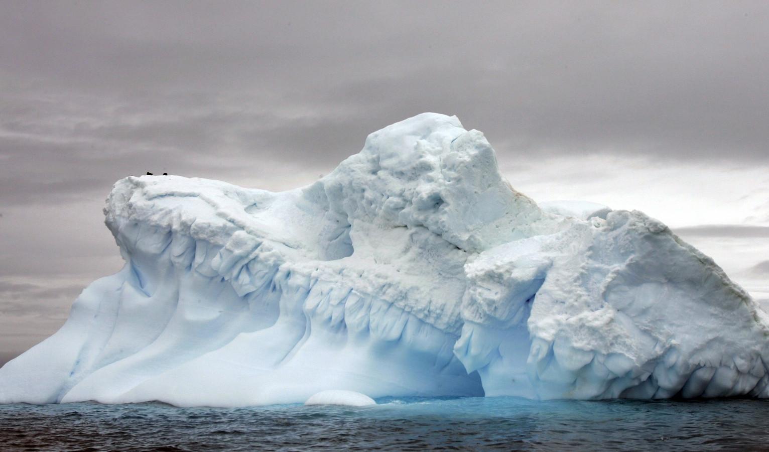 Gletsjer in Antartica.
