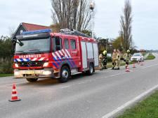 Scooterrijder belandt in sloot in Middelburg