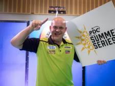 Tweede toernooizege voor Van Gerwen in PDC Summer Series