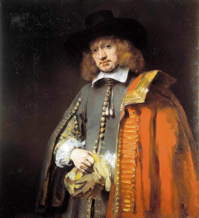 Rembrandts Jan Six  uit 1654.
