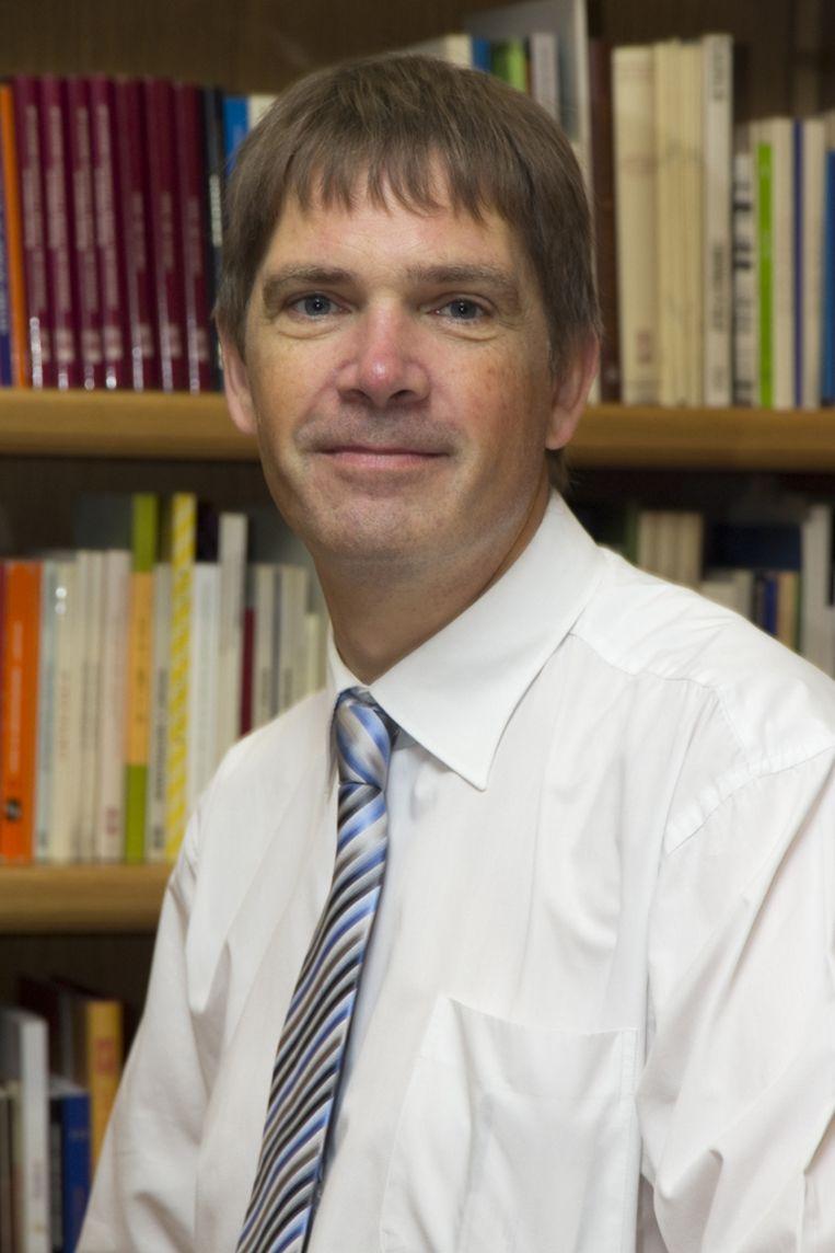Onderzoeker Jack Pronk Beeld .