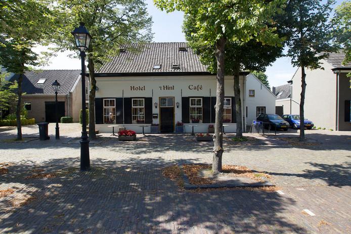 Hotel 't Hint in Eersel toen het er minder troosteloos uitzag.