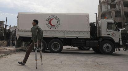 Voedselkonvooi Oost-Ghouta binnengegaan