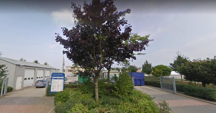 Het afvaldepot van de gemeente Overbetuwe in Andelst.