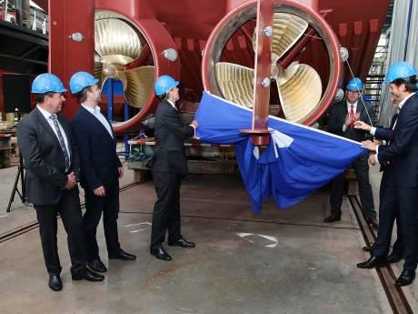 Damen Shipyards Gorinchem duikt de rode cijfers in