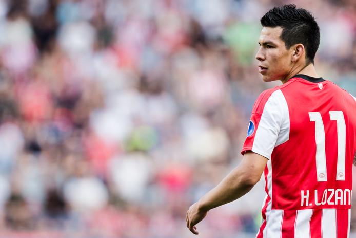Hirving Lozano is nog een twijfelgeval bij PSV voor het duel met VVV van zondag.