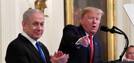 Trump presenteert vredesplan Midden-Oosten: 'Grote stap richting vrede'