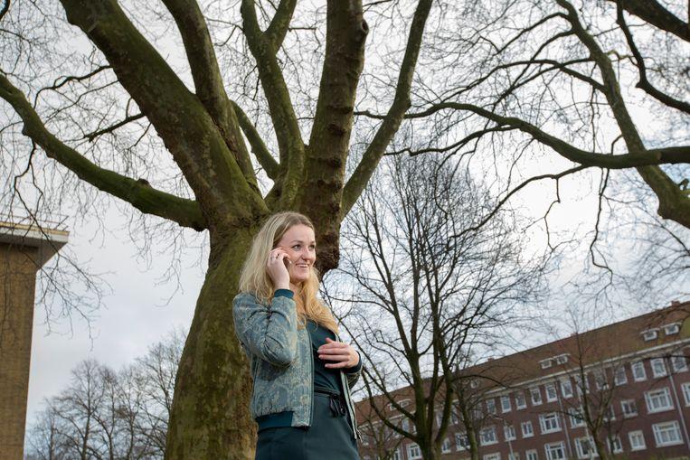 Paula Schot, lijstrekker SGP Amsterdam. Beeld Maartje Geels