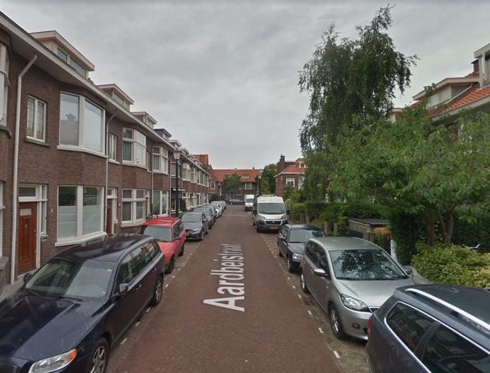 De Aardbeistraat in Den Haag.