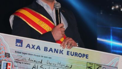 Eierboer schenkt 6.200 euro aan ALS-Liga