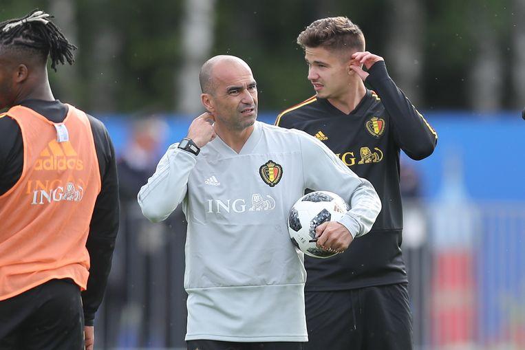 Roberto Martínez geeft Leander Dendoncker weer een kans om zich te tonen.