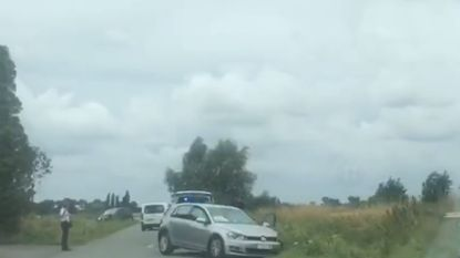 Bejaard echtpaar gewond na stevige aanrijding in Beauvoorde
