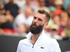 Benoit Paire, testé positif au Covid-19, déclare forfait pour l'US Open
