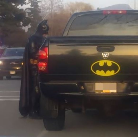 Batman druipt weer af
