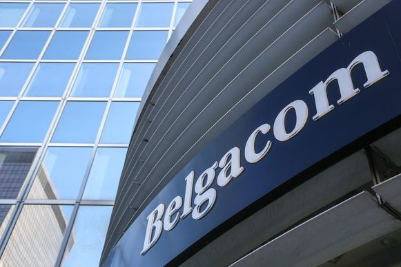 Het hoofdkwartier van Belgacom, tegenwoordig Proximus, in 2013.