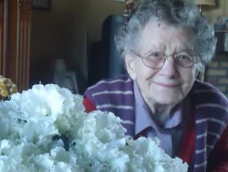 Tuinhier Rumbeke zet 100-jarige Margriet Dejonckheere in de bloemen