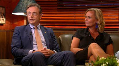 """Bart De Wever onthult hoe hij Liesbeth Homans leerde kennen: """"Plots stond Liesbeth tijdens een studentenfeestje aan mijn tafel"""""""