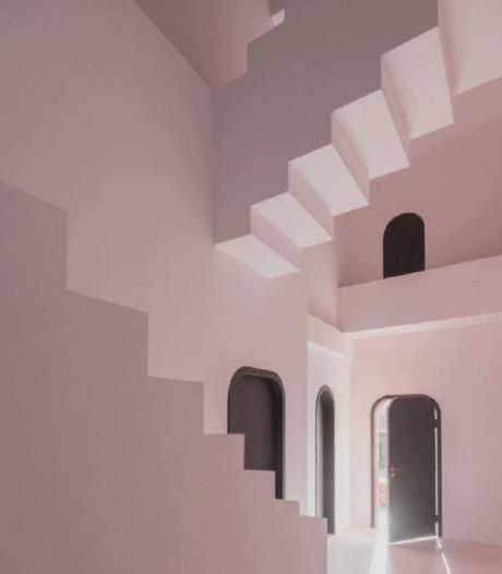 Chinees hotel met Eschers 'onmogelijke constructies'