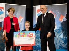 15 miljoenste zwemdiploma is voor Eline (7) uit IJsselstein