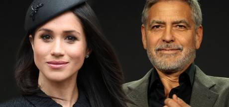 Clooney neemt het op voor Meghan Markle: ze jagen op haar als op Lady Di