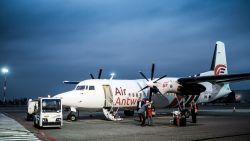 """Mee met eerste passagiers Air Antwerp: """"Eurostar is ook niet zo proper, hoor"""""""