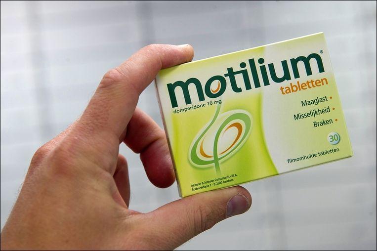Domperidon zit onder meer in Motilium.