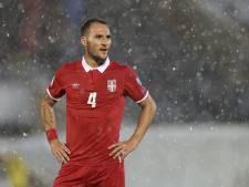 Gudelj niet opgenomen in WK-selectie Servië