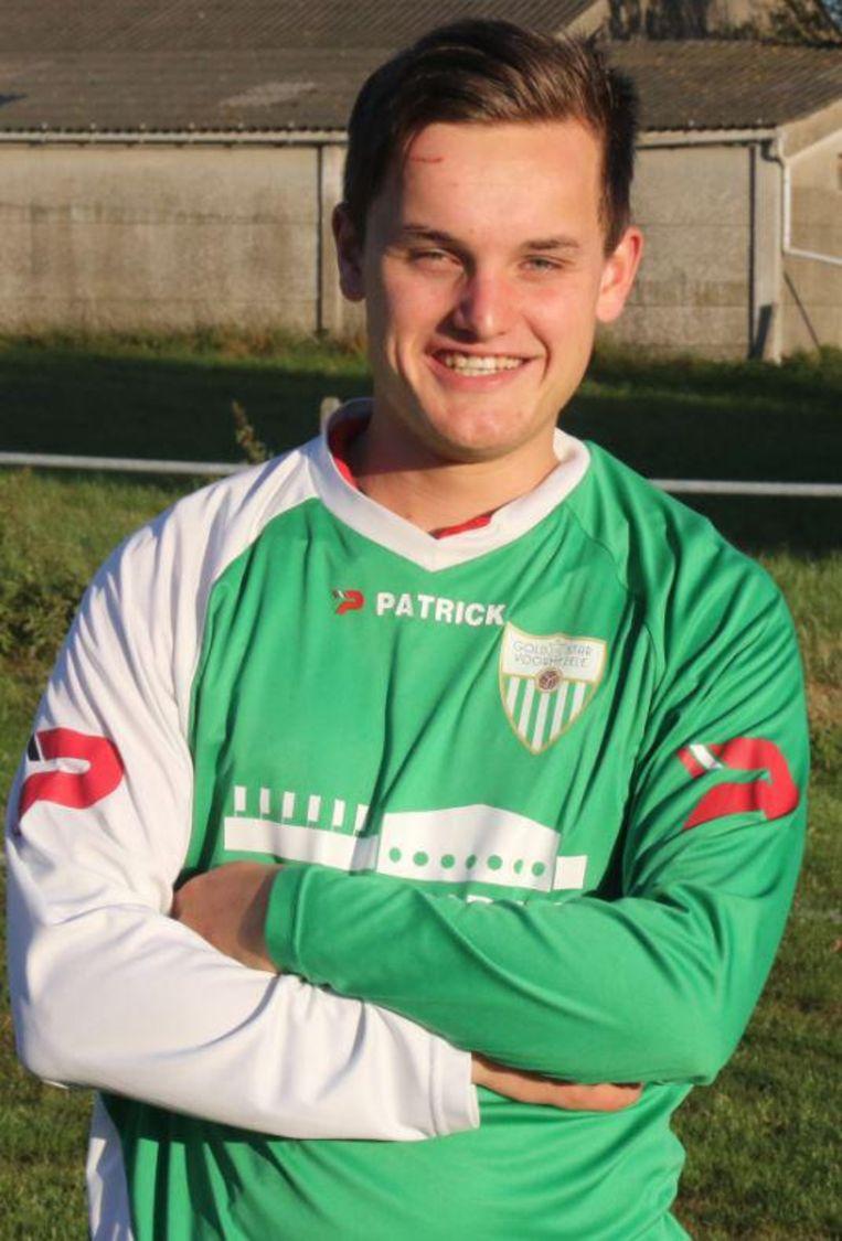 Slachtoffer Jorn Bertier was speler bij de eerste ploeg van Goldstar Voormezele.