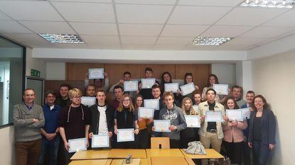 Scholen sluiten Europees project feestelijk af