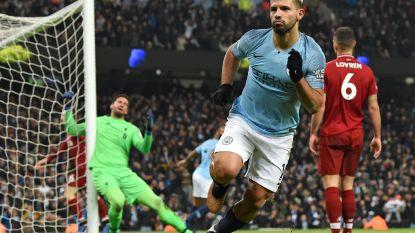 Manchester City maakt na zinderende wedstrijd een eind aan ongeslagen reeks Liverpool, de Engelse titelstrijd ligt weer open