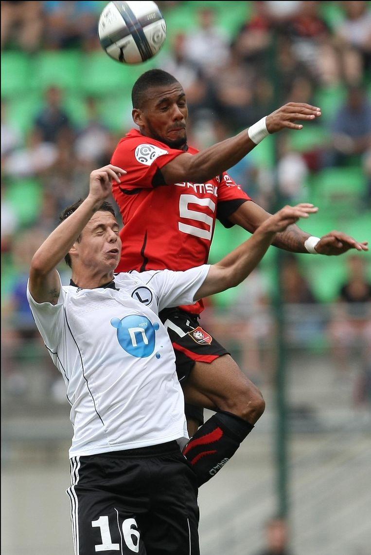 Borysiuk (l) zou nu toch naar Kaiserslautern vertrekken.