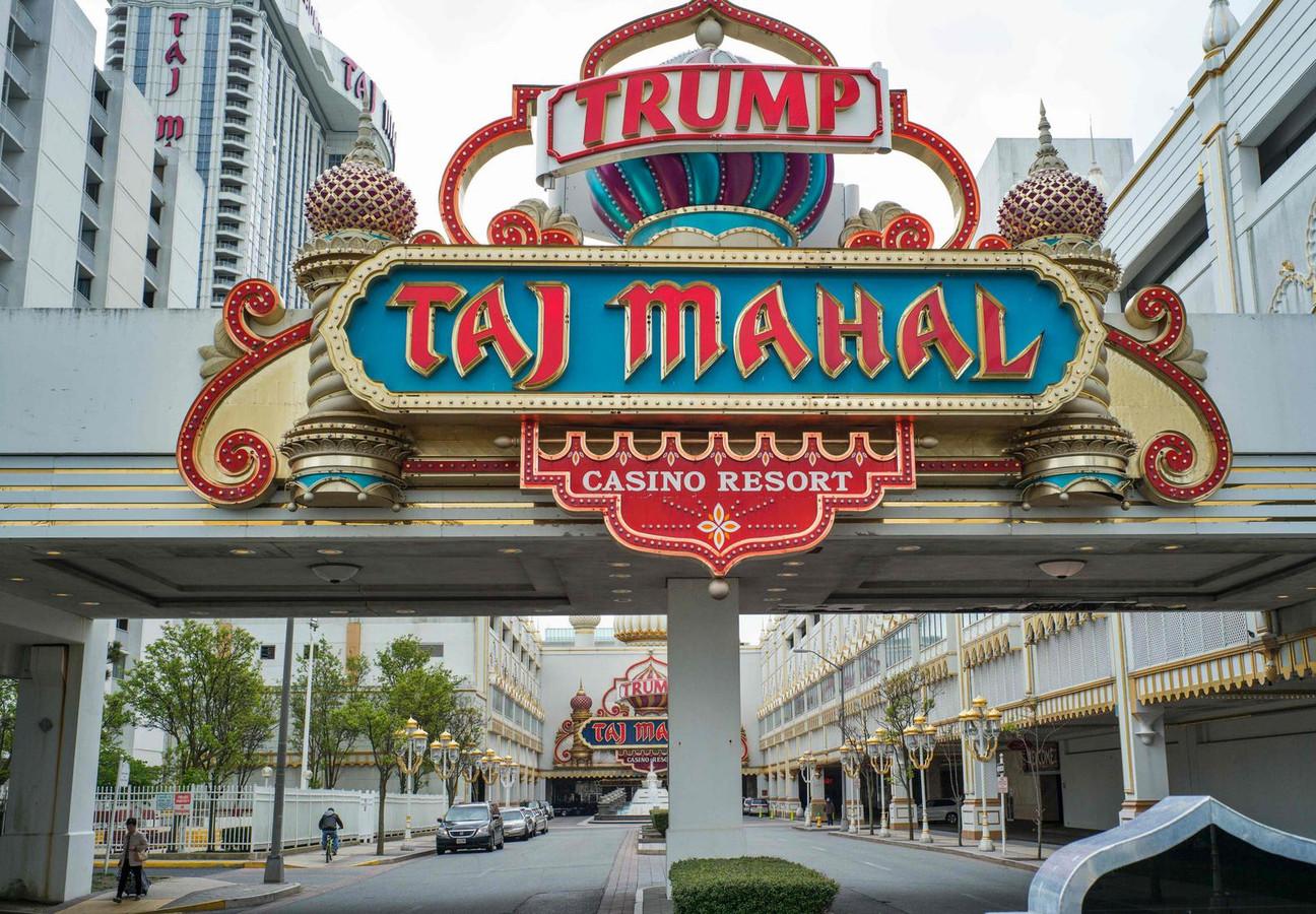 Photo prise en mai 2016 et montrant le Trump Taj Mahal Casino Resort à Atlantic City, qui a appartenu à Donald Trump et a fermé il y a quatre ans.