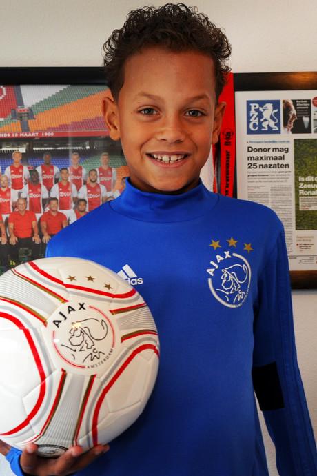 Voor Ilai (7) gaat zijn voetbaldroom in vervulling