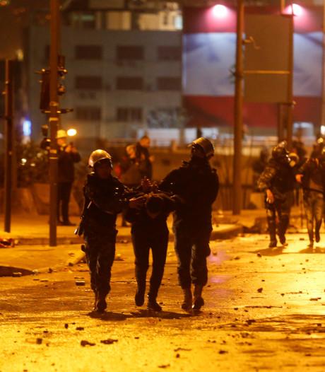 Plus de 220 blessés dans des heurts entre manifestants et forces de l'ordre à Beyrouth