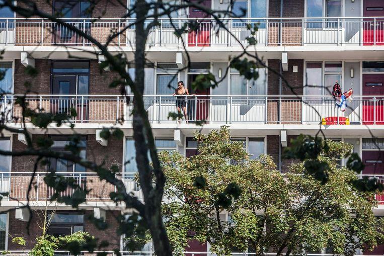 Een flat in de Banne. Beeld Amaury Miller