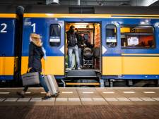 Minder treinen van en naar Dordrecht