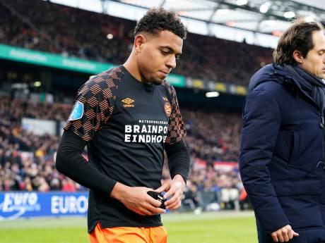 PSV moet Donyell Malen naar verwachting een aantal maanden missen